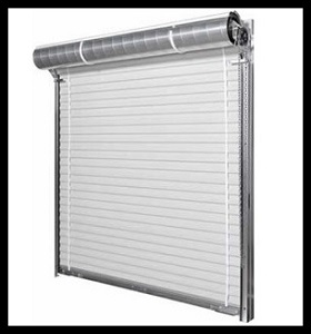 steel rollup garage door